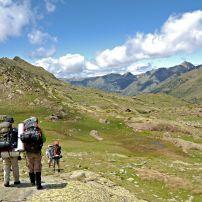 Hikers, The Pyrenees, Spain