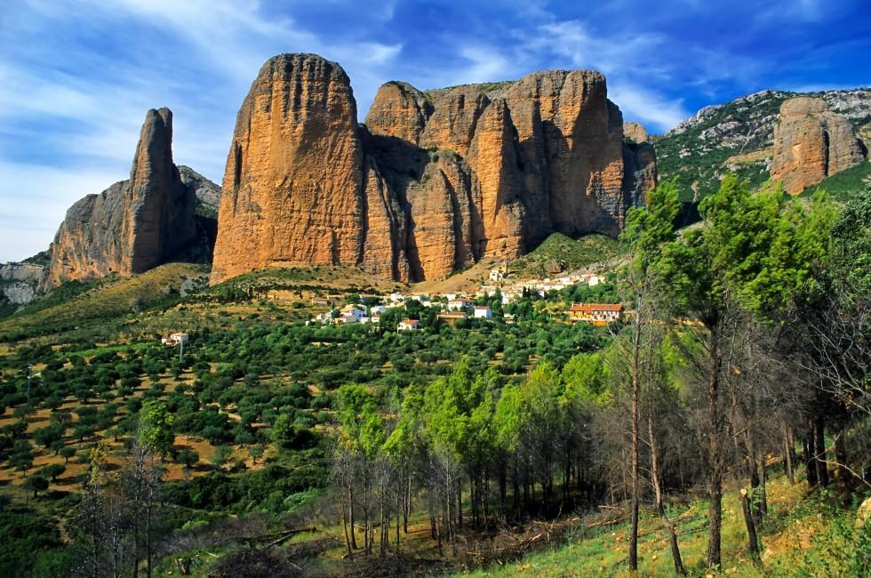 Mallos de Riglos, Huesca, The Pyrenees, Spain