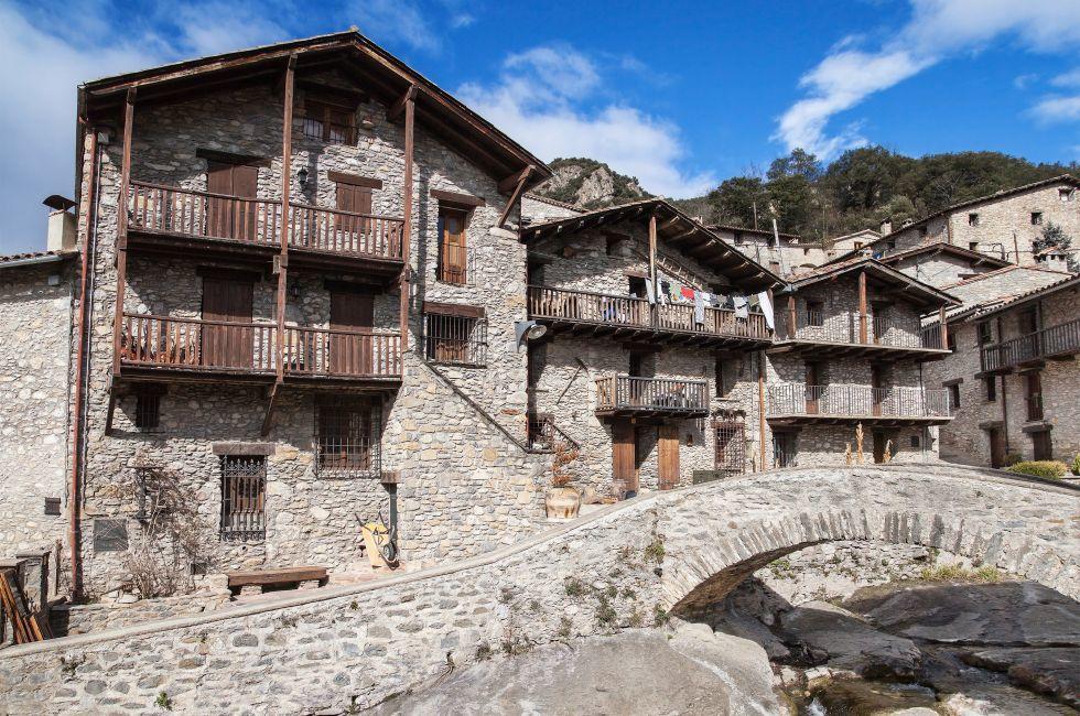 Beget, Girona, Catalonia, Spain