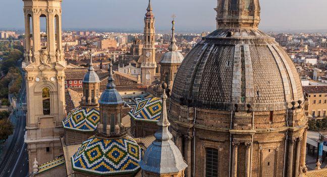 Basilica de Nuestra, Senora del Pilar, Zaragoza, Spain