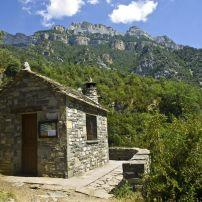 Cabin, Forest, Bielsa, Spain