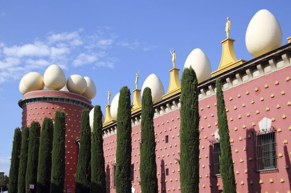Salvador Dali Museum, Figueras, Catalonia Valaencia and the Costa Blanca, Spain
