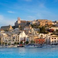Harbor, Cityscape, Eivissa, Ibiza, Spain