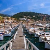 Puerto de Soller, Mallorica, Spain