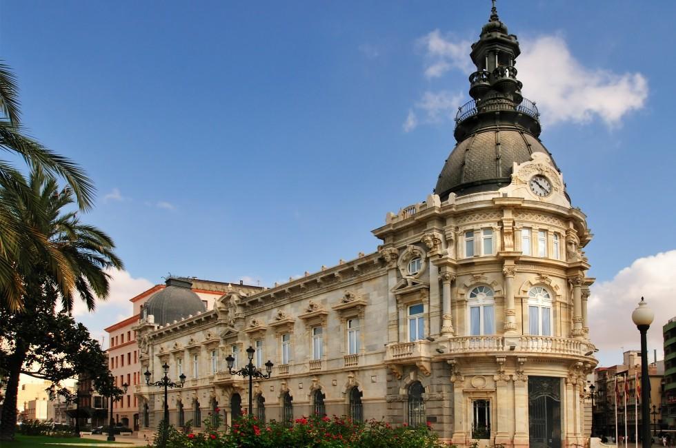 Palacio Consistorial, Cartagena, Murcia, Spain
