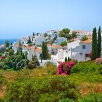Cityscape, Nerja, Costa del Sol and Costa de Almeria, Spain