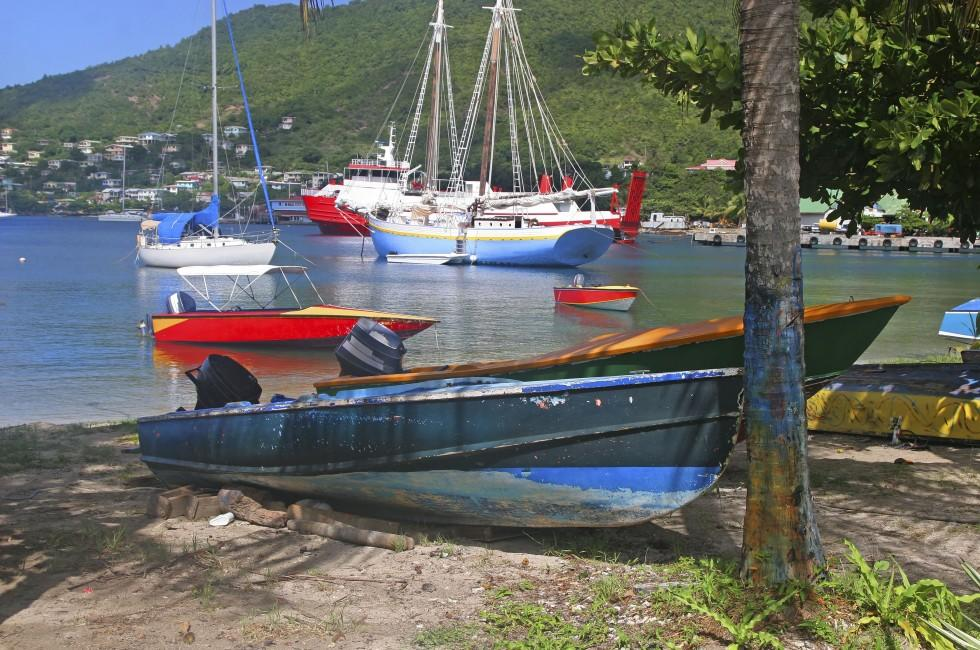 Admiralty Bay, Bequia, St. Vincent, Caribbean