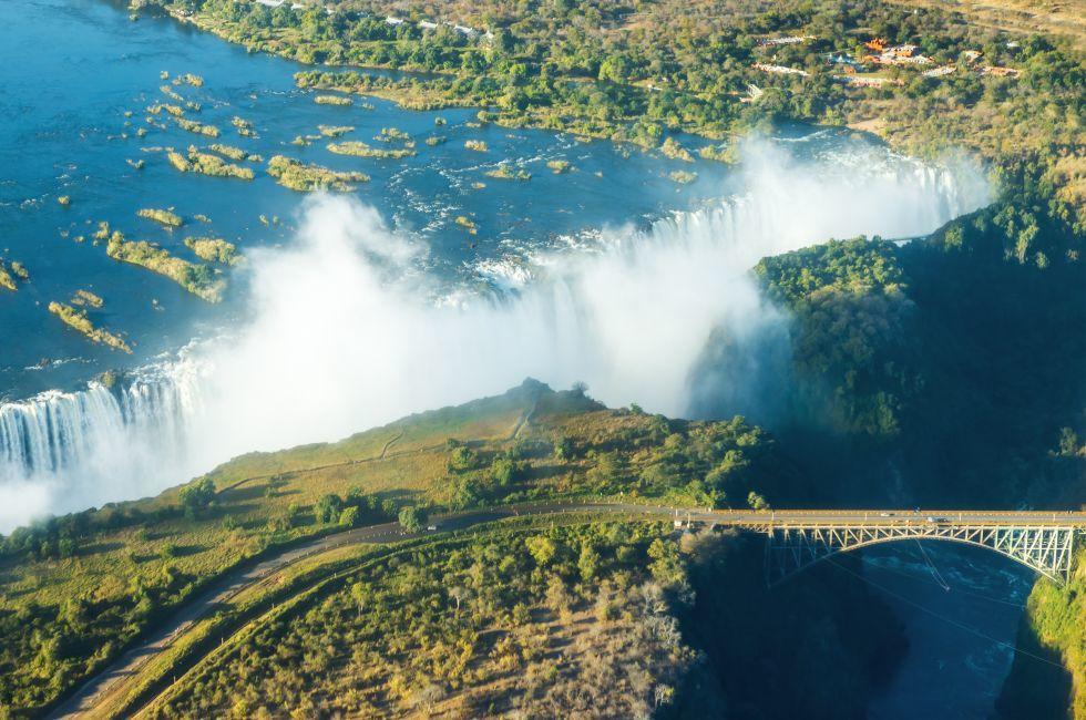 Bridge, Victoria Falls, Zambia, Zimbabwe
