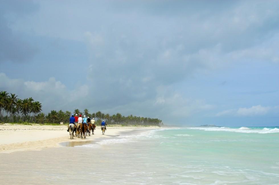 Horseback, Beach, Macao, Punta Cana, Dominican Republic, Caribbean