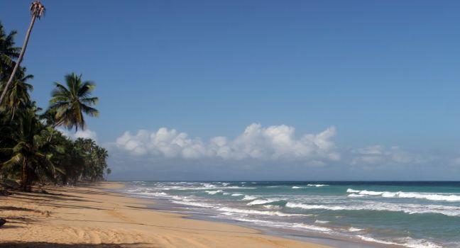 Coson Beach, Las Terrenas, Samana Peninsula, Dominican Republic, Caribbean