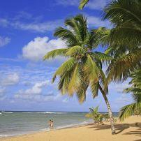 Las Terrenas Beach, Samana Peninsula, Dominican Republic, Caribbean