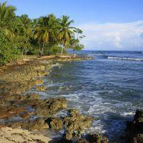 Las Galeras Beach, Samana Peninsula, Dominican Republic, Caribbean