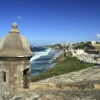 Sentry Box, Castillo San Felipe del Morro, Old San Juan, Puerto Rico