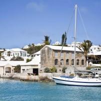 Sailboat, St. George's, Bermuda, Caribbean