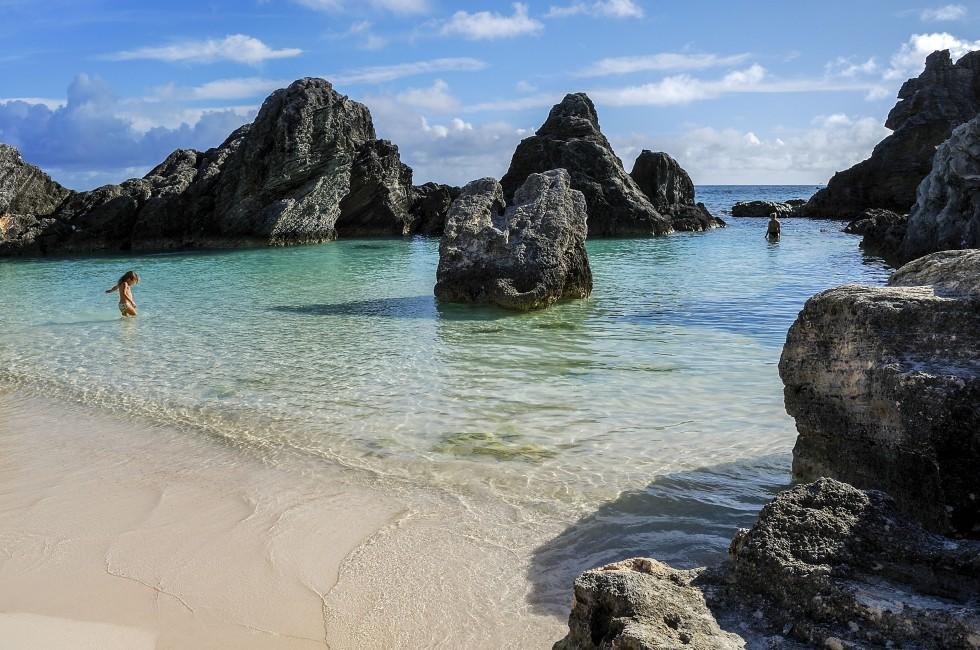 Maya's Cove, Horseshoe Bay, Bermuda, Caribbean