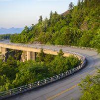 The Linn Cove Viaduct, Blue Ridge Parkway, Virginia