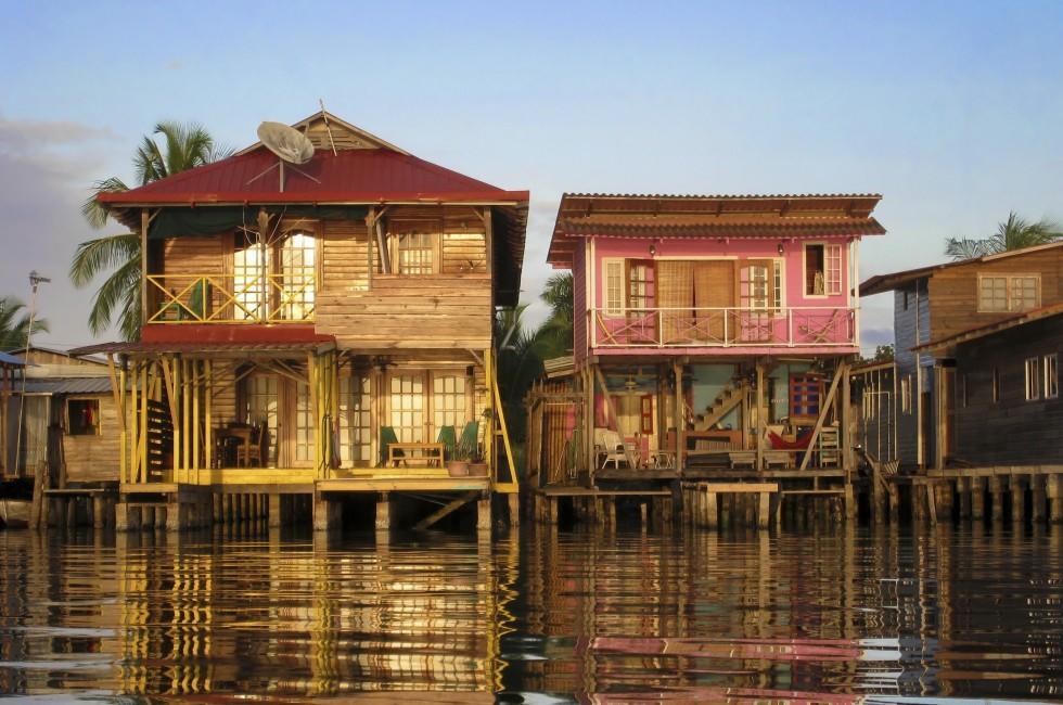 Houses, Bocas Del Toro, Panama