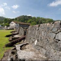 Cannon Battery, San Jeronimo Fortress, Portobelo, Colon, Panama