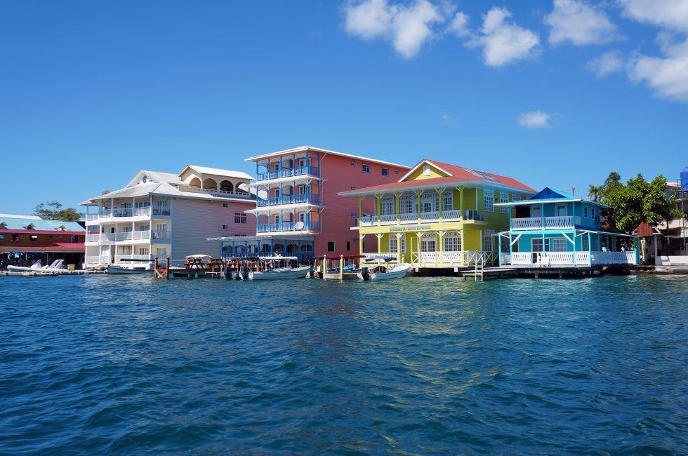 Boats, Colon Island, Bocas del Toro, Panama