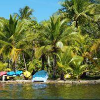Kayaks, Carenero Island, Bocas del Toro, Panama, Central America