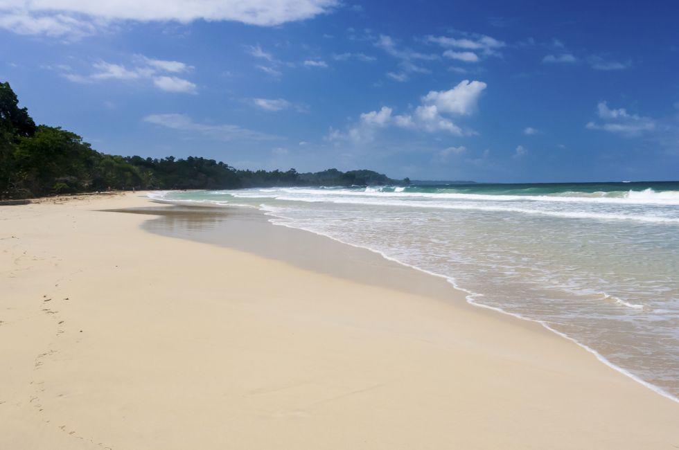 Red Frog beach, Bastimentos Island, Bocas Del Toro, Panama