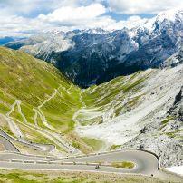 Road, Passo dello Stelvio, Alto Adige, Italy