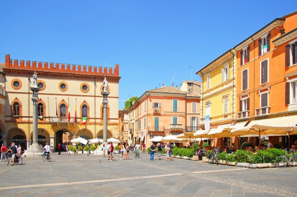 Piaza del Popolo, Ravenna, Emilia-Romagna, Italy
