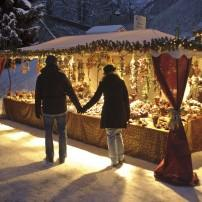 Market, Ettal, The Bavarian Alps, Germany