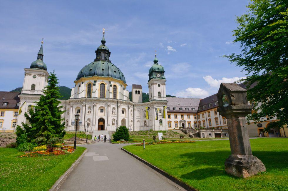 Ettal Abbey, Bavaria, Germany