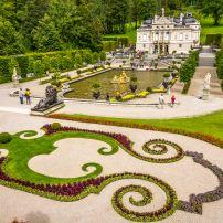 Schloss Linderhof, The Bavarian Alps, Germany, Europe.