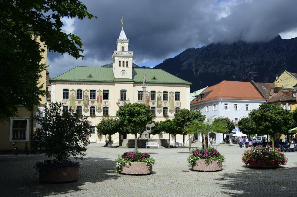Town Hall, Bad Reichenhall, Germany