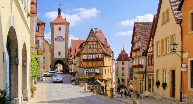 The romantic road travel guide fodor 39 s travel - Rothenburg ob der tauber alemania ...