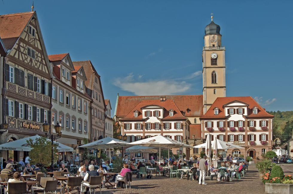 Market, Bad Mergentheim, Germany