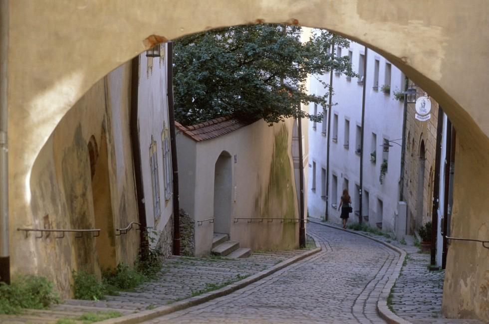 Alley, Passau, Germany