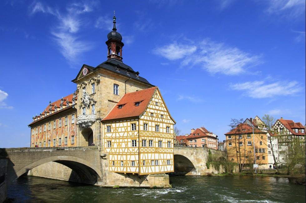 Town Hall. Bamberg, Bavaria, Germany