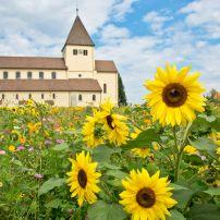 Stiftskirche St. Georg, Reichenau, The Bodensee, Germany, Europe.