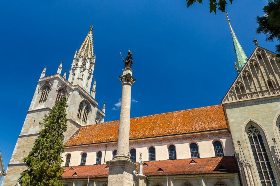 Münster cathedral, Konstanz, The Bodensee, Germany, Europe.
