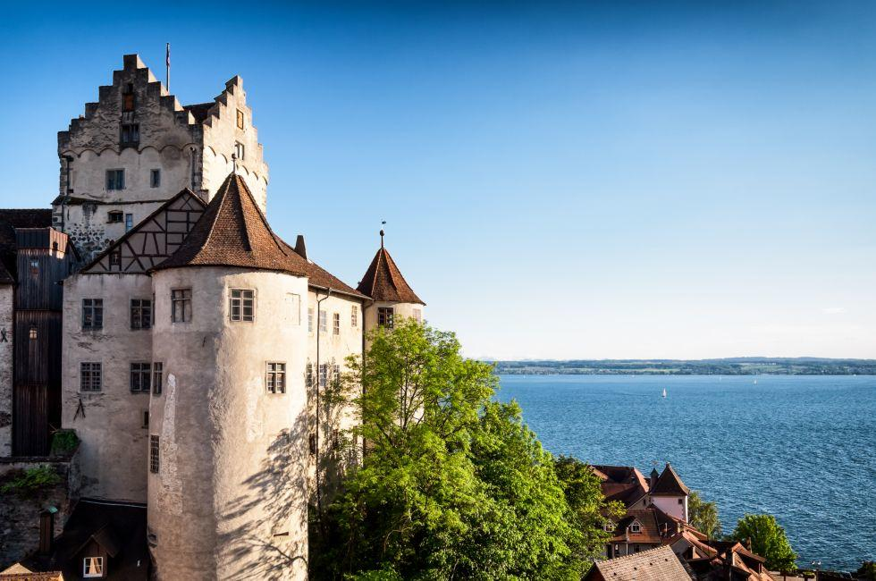 Altes Schloss, Meersburg, The Bodensee, Germany, Europe.