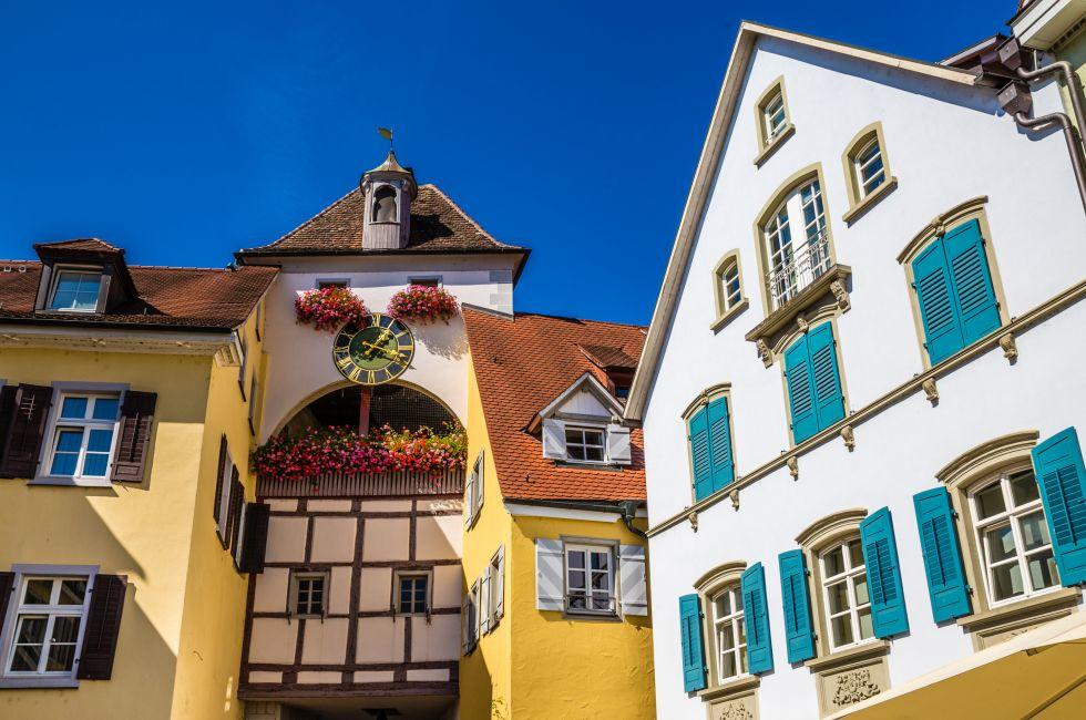 Meersburg, The Bodensee, Germany, Europe.