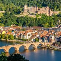 Old Bridge, Heidelberg Castle, Heidelberg, Germany