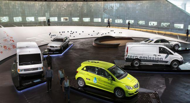 Mercedes-Benz Museum, Bad Canstatt, Stuttgart, Germany, Europe