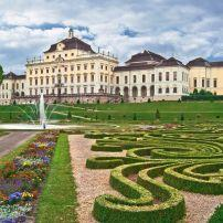 The Residenz Palace, Ludwigsburg, Heidelberg and the Neckar Valley, Germany, Europe.