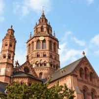 Old Town, St. Martins Cathedral, Mainz, Germany