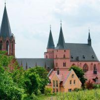 Katharinenkirche (St. Catherine's Church), The Pfalz and Rhine Terrace, Germany, Europe.