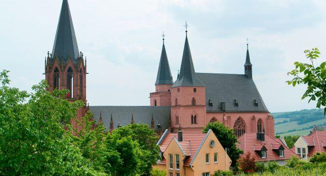 Katharinenkirche (St. Catherine's Church), The Pfalz and Rhine Terrace, Germany, Europe.