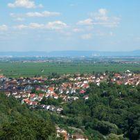 Bad Durkheim, The Pfalz and Rhine Terrace, Germany, Europe.