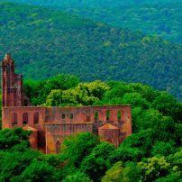 Kloster Limburg (Limburg Abbey), The Pfalz and Rhine Terrace, Germany, Europe.
