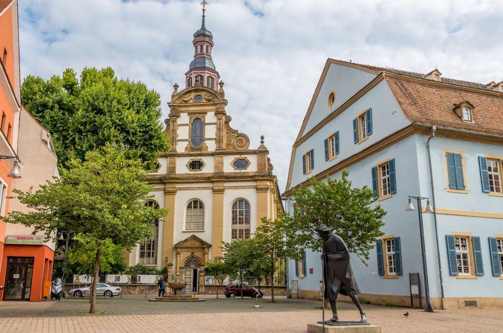 Dreifaltigkeitskirche, Church, Speyer, Rhineland-Palatinate, Germany
