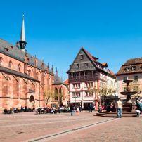 Neustadt, The Pfalz and Rhine Terrace, Germany, Europe.