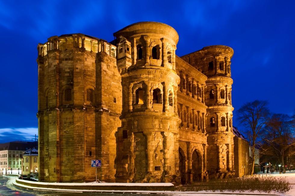 Porta Nigra, Trier, The Rhineland, Germany